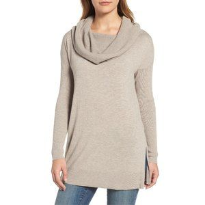NWT Nordstrom Caslon Convertible Tunic Sweater